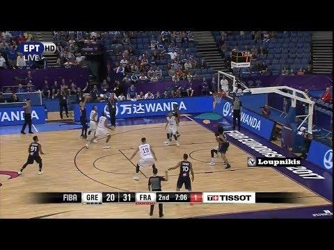 Ελλάδα - Γαλλία 87-95 Highlights | HELLAS vs France - Eurobasket 2017 {2/9/2017}