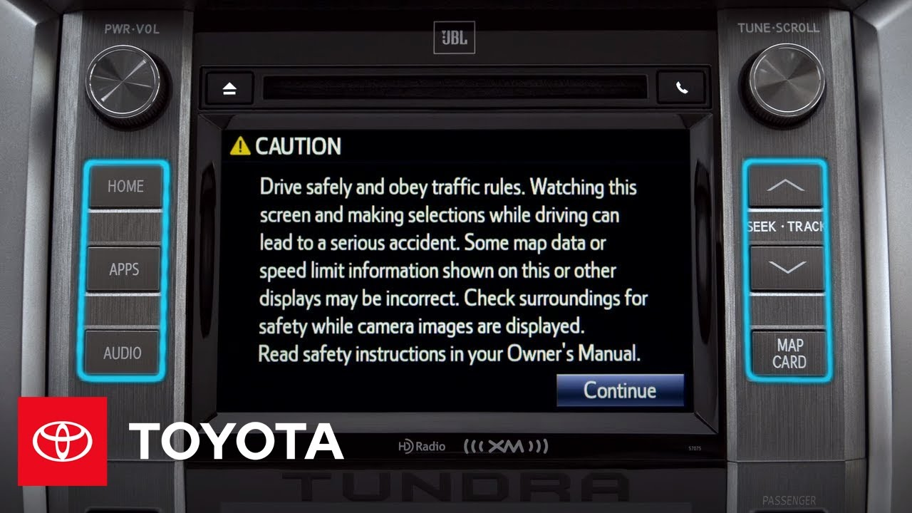 2014 Tundra How-To: Navigating Entune™ | Toyota on map services, map scores, map rules, map data, map books, map graphics, map photography,