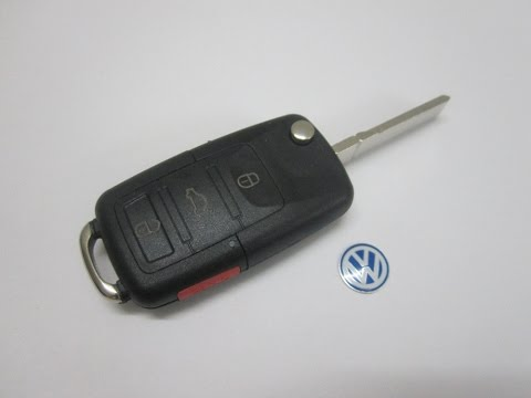 Ключ зажигания на Vw поло Passat B5 B6 гольф 4 5 6 Touran  Jetta 3 1 4