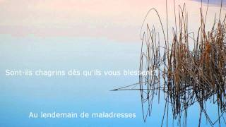 L'un part et l'autre reste - Charlotte Gainsbourg - HD Lyrics on Screen