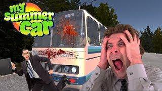 DRUNK IN PUBLIC TRANSPORT - My Summer Car Gameplay Part 6