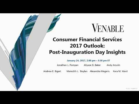 Consumer Financial Services 2017 Outlook: Post-Inauguration