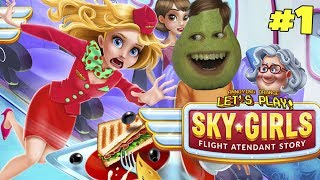 Pear Forced to Play - Sky Girls #1