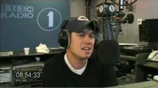 Moyles - Nick Grimshaw on the phone (Web Streaming Mon 13 Jul 08:47-08:57)