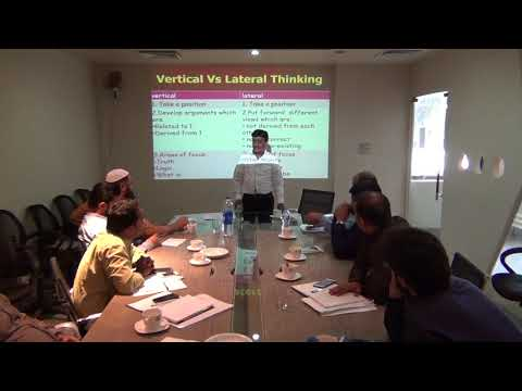 Difference between Vertical and Lateral Thinking by Munir Shakir