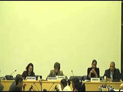 [2 of 4] UN Committee on the Rights of the Child - Jamaica Review - 68th Session, Jan 2015