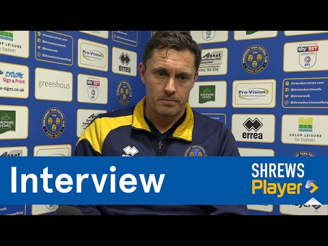 INTERVIEW | Paul Hurst pre Peterborough United (A) - Town TV