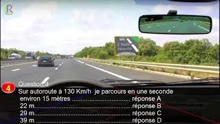 Code de la route: Version #française 2018 Série 1 Permis de Conduire Q 1 à 10