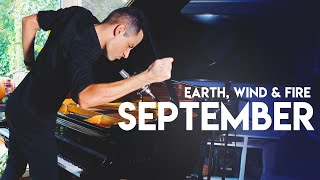 SEPTEMBER - Earth, Wind & Fire x Peter Bence (Piano Cover)