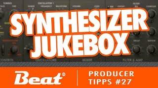 Interessante Sequenzen mit der Synthesizer Jukebox   Producer Tipps #27