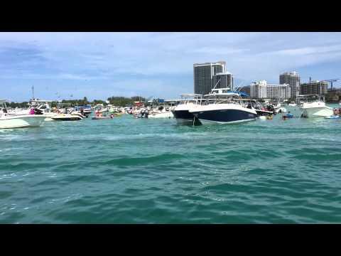 Haulover Miami Sandbar Boat Rentals $200