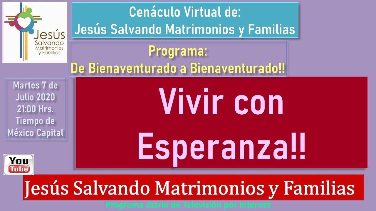 #Vivir con  Esperanza!! De Bienaventurado a Bienaventurado