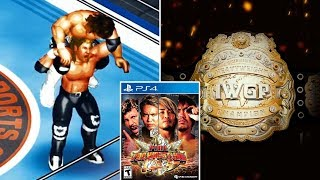 Fire Pro Wrestling World PS4 - Official Championships, Authentic Themes, Creations & More! (FPWW)