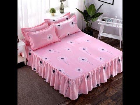 10蒲公英_150公分寬 標準雙人床罩床裙3件套(床裙1枕套2) [愛美健康]馨vbn《2件免運》16花色 其他規格下方連結
