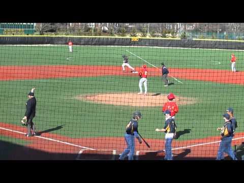 SP at CH baseball clip 3 Jamal Wade home run  3 31 14