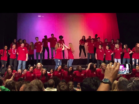 Collins Hill High School Chorus singing We Go Together 2017