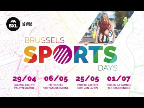 Brussels Sports Days 2017 campaign for Prosport