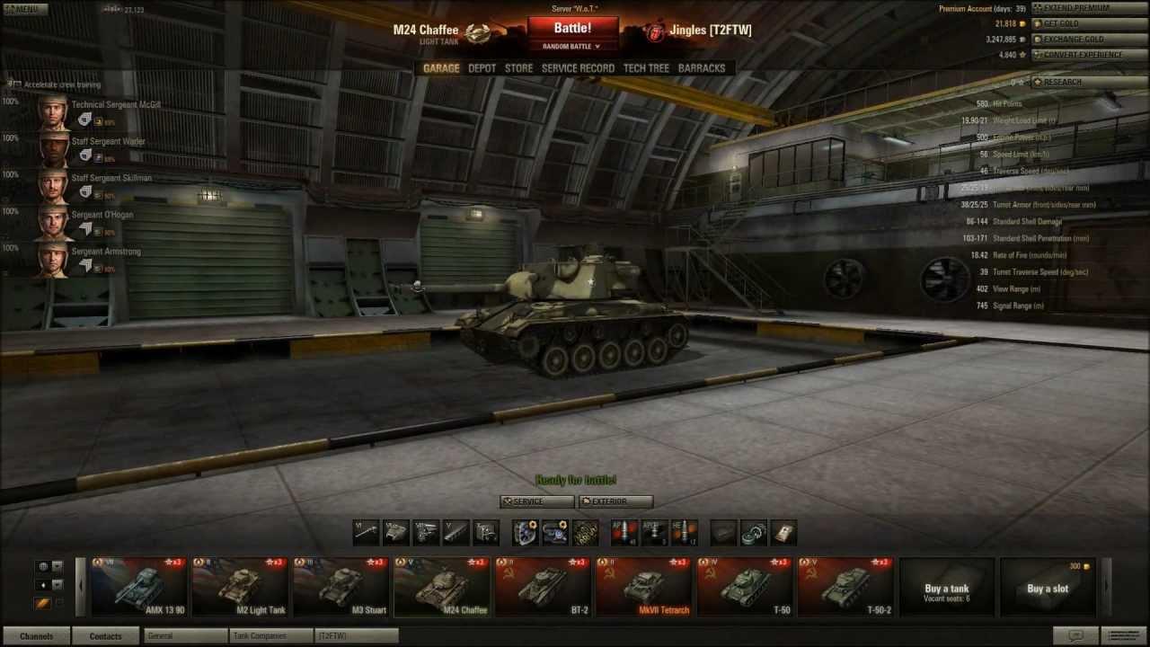 Welt der Panzer m5 stuart Matchmaking