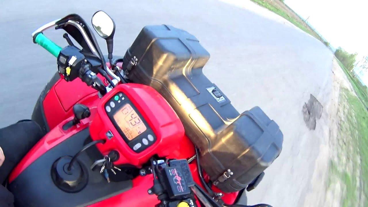 квадроцикл Honda trx 500 fa #3