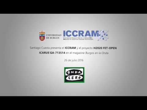Presentation of EU-H2020-FET-OPEN ICARUS GA713514 - Onda Cero Burgos