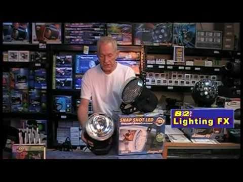 American DJ Snap Shot LED STROBE LIGHT - Brighter than the old school Strobes ADJ