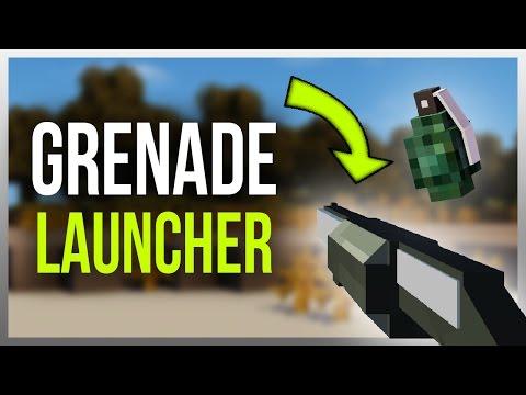 ✔️ GRENADE LAUNCHER in Minecraft! (Huge Explosions)