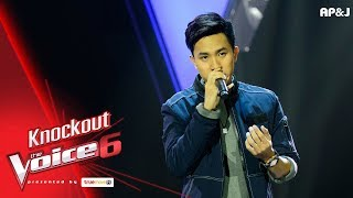 Knock Out : ม่อน  VS แจ๊คกี้ 2/3 - เกือบ  - The Voice Thailand 6 - 24 Dec 2017