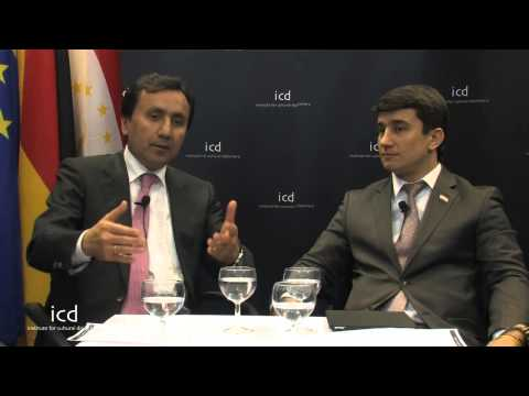 Imomudin Sattarow, Ambassador of Tajikistan to Germany; Lochin Fayzulloev  Vice Chairman of Tourism
