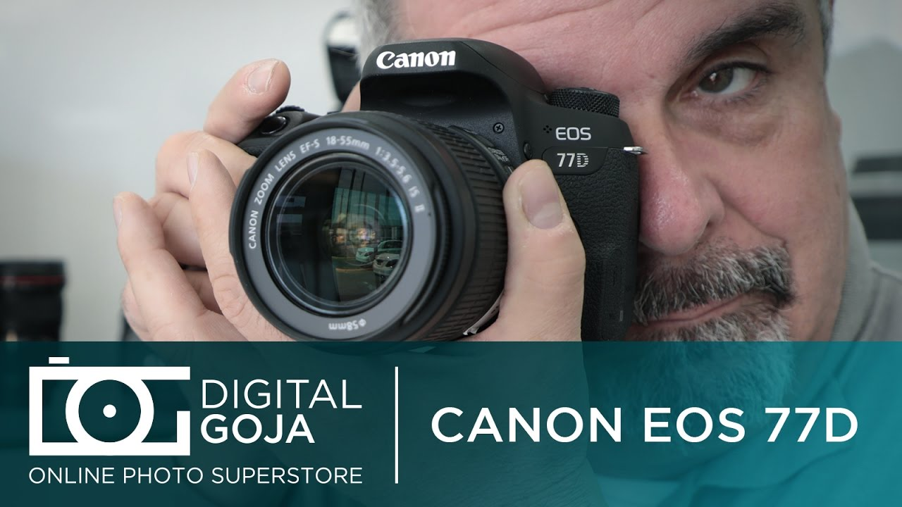 New Canon 77D | First look review of the Specs, features and more!