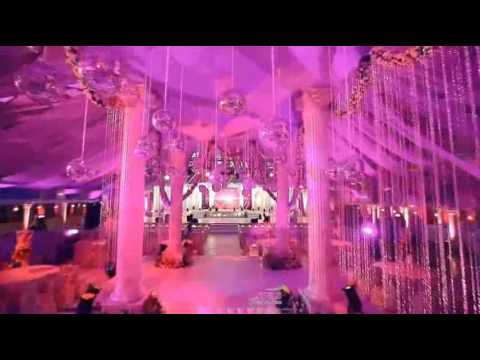 Arab wedding stages designs doovi for Arabic stage decoration