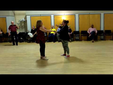 CJDS No Name dance East Coast Swing lesson Part II with Hazel Ulrich 4-21-18