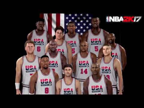 The 1992 USA Dream Team WITH Charles Barkley Confirmed for 2k17