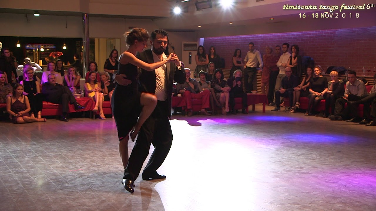 Andres Molina y Natacha Lockwood
