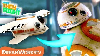 BB-8 Was Gonna be an AIRPLANE? | WHAT THEY GOT RIGHT