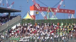 慶應義塾大学の応援団 ~全早慶野球戦西条大会~