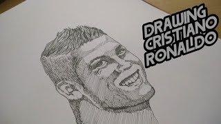 Drawing Cristiano Ronaldo || My Sketch