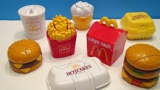 MCDONALD'S 1990 MCDINO CHANGEABLES HAPPY MEAL WAVE 3 FULL COLLECTION TOY REVIEW