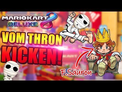 Sauron vom Thron kicken! - Mario Kart 8 Deluxe mit der Gang - Tombie deutsch