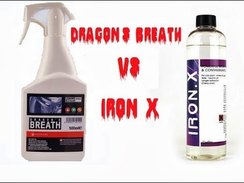 valetpro dragon 39 s breath vs carpro iron x decontamination. Black Bedroom Furniture Sets. Home Design Ideas