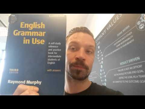 Recommending a good English Grammar book for ESL learners.
