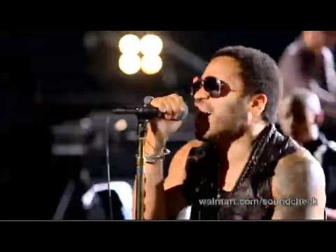 Lenny Kravitz - Black And White America (Walmart Soundcheck)