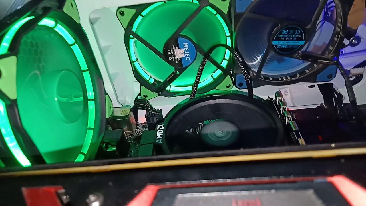 Vga rx 580 red devil no display saat di colok hdmi ke vga dan display saat  hdmi di motherboard