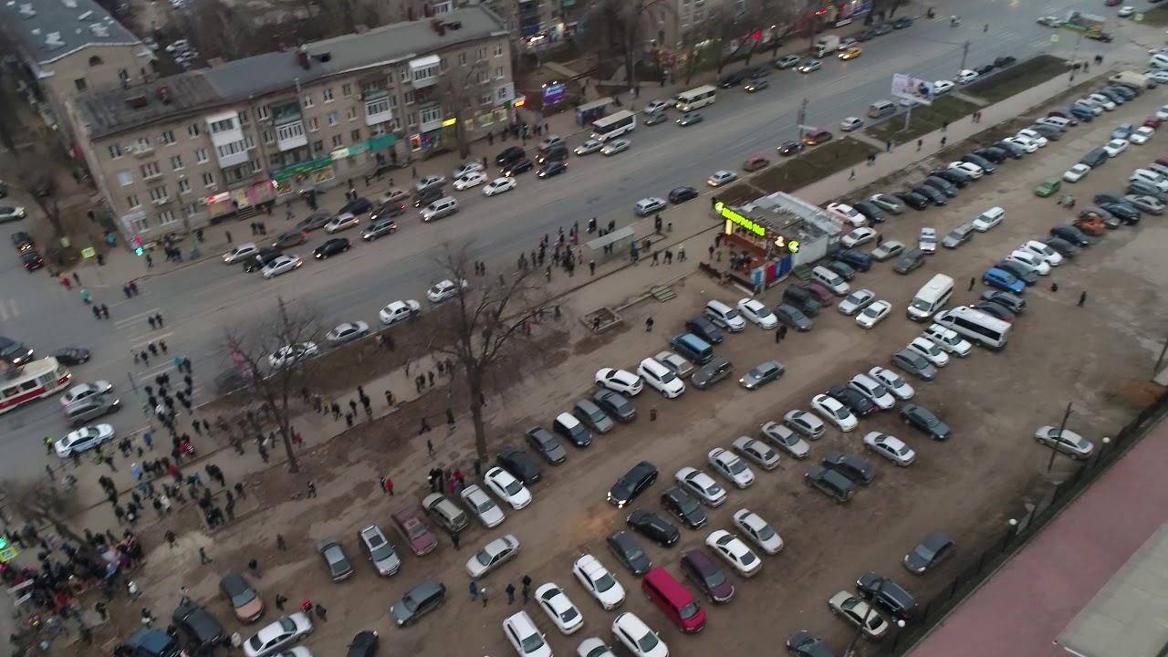 Навальный в Самаре. Митинг. 3.12.2017Г.(НАЧАЛО)