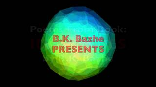 America by BK Bazhe, Audio Books Poetry Art Writing