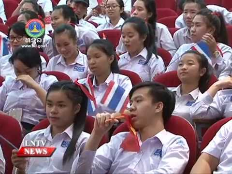 LAo NEWS on LNTV: The Lao team wins 1st place in the 7th Asean Quiz.25/8/2016