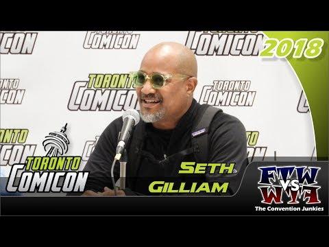 Seth Gilliam The Walking Dead, The Wire Toronto ComiCon 2018 Full Panel