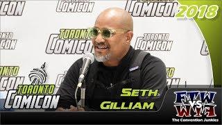 Seth Gilliam (The Walking Dead, The Wire) Toronto ComiCon 2018 Full Panel