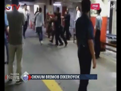 Mengejutkan! Seorang Anggota Brimob Dikeroyok Sejumlah Pemuda di Mall - BIM 27/11 Mp3