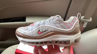 Nike Air Max 98 Rose Gold women shoes