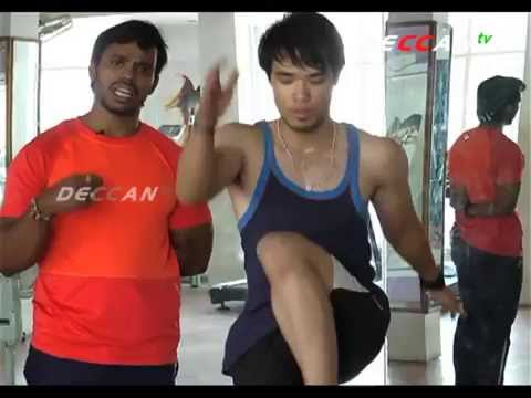 Fitness training by GS LAKSHMIKANTH - FITNESS SHOW - DECCAN TV